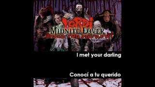 Lordi - Midnite Lover HD Subtitulado Español English Lyrics