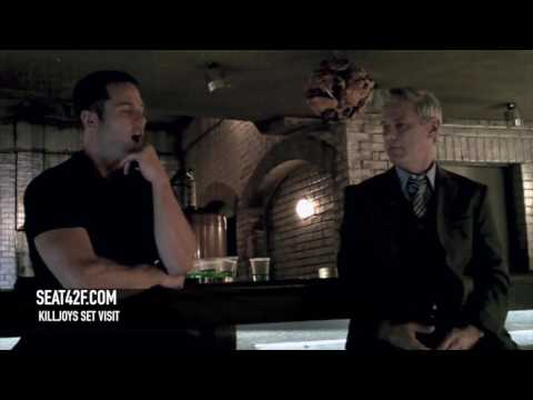 Luke Macfarlane Rob Stewart Killjoys Set Visit Interview