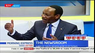 Ezekiel Mutua: Vet political analyst before bringing them to our screens