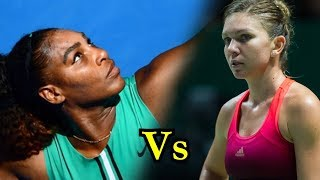 Serena Williams vs Simona Halep No1 vs No1
