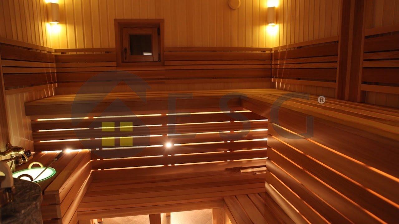 Настоящая русская баня из клееного бруса