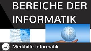 Inhalte und Bereiche der Informatik - Theoretische, Technische, Praktische & Angewandte Informatik