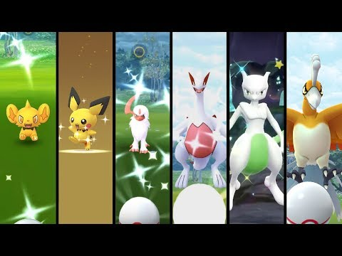 BEST SHINY CATCH COMPILATION EVARR! All Shiny Catches From 2017 to 2019 in Pokemon GO & Let's Go