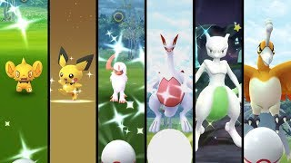 Best Shiny Catch Compilation Evarr! All Shiny Catches From 2017 To 2019 In Pokem