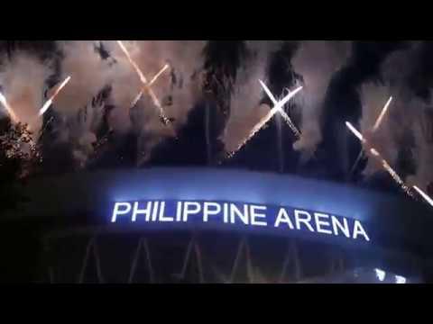 PHILIPPINE ARENA  NEW YEAR 2017 (RAW VIDEO)