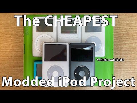 The CHEAPEST IPod To Modify