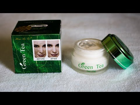 গ্রিন টি নাইট ক্রিম Green Tea Whitening Cream Review | Price | Side Effects