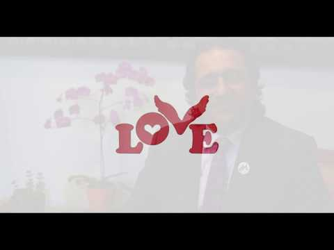 Dr. Sadeghi's Pledge for Love Button Global Movement