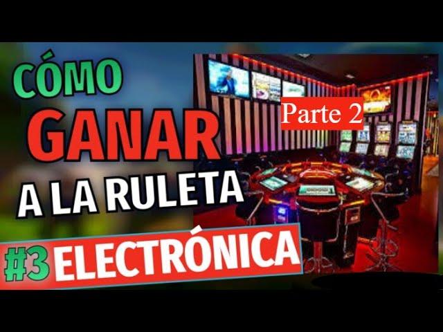 RULETA ELECTRONICA /SALÓN DE JUEGOS GOLDENPARK /CASINO/Parte 2🔥