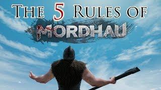 THE 5 RULES OF MORDHAU! - Mordhau Beginner's Guide