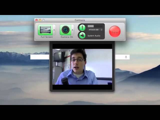 Online Video in the Flipped Classroom: Camtasia - Creating a recording