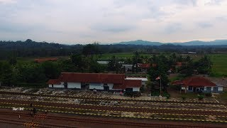 Stasiun Karangsari Aerial Video