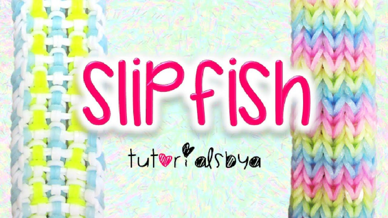 New Reversible Slipfish Rainbow Loom Bracelet Tutorial