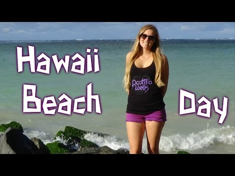 A Day at the Beach in Kahului Maui