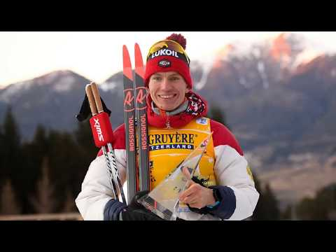 Взятие проб на допинг у Большунова. Тур де Ски 2019/2020.