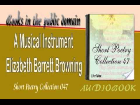 A Musical Instrument Elizabeth Barrett Browning Audiobook Short poetry