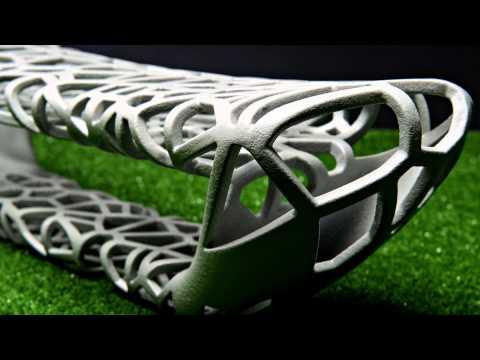 3D Concrete Printing Bench Design Project – Loughborough Design School