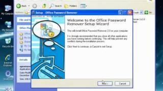 How to remove microsoft word document password