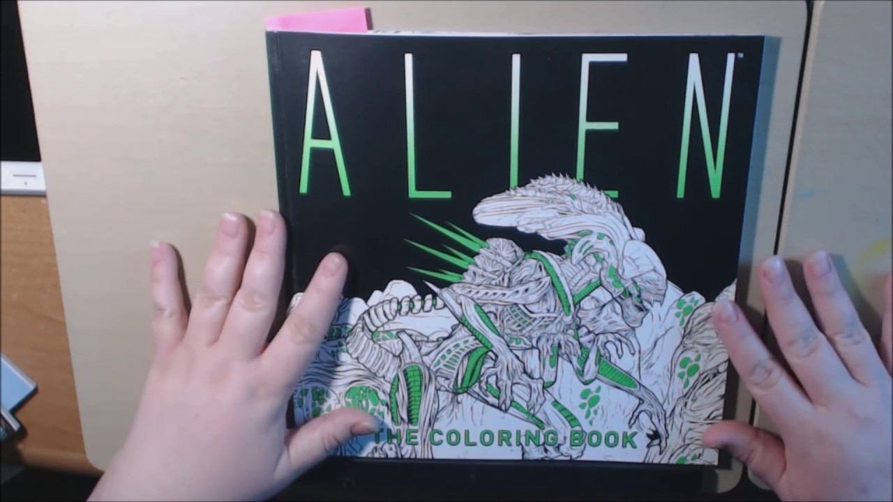 Alien The Movie Adult Coloring Book