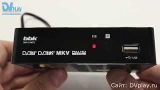 BBK SMP127HDT2 - обзор цифрового ресивера