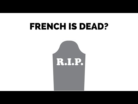 French Is Dying! The Decline Of French