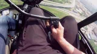 Обучение пилотированию вертолётом Robinson R44(Управление вертолётом Robinson R44 / Обучение пилотированию вертолётом, второй тренировочный полёт. Характерист..., 2013-05-14T14:29:28.000Z)