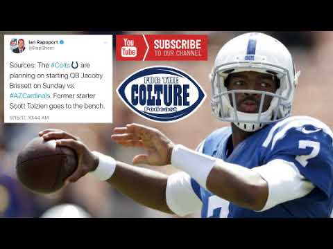 "Ian Rapoport: The Colts Are ""Planning"" On Starting QB Jacoby Brissett vs Arizona"