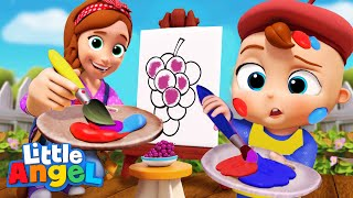 *NEW* Color Mixing Magic | Educational Kids Songs & Nursery Rhymes By Little Angel