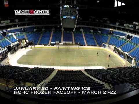 Target Center Hockey Conversion