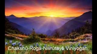 chakshushopanishad mantra in english by usha patel