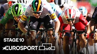 Tour de France 2020 - Stage 10 Highlights | Cycling | Eurosport