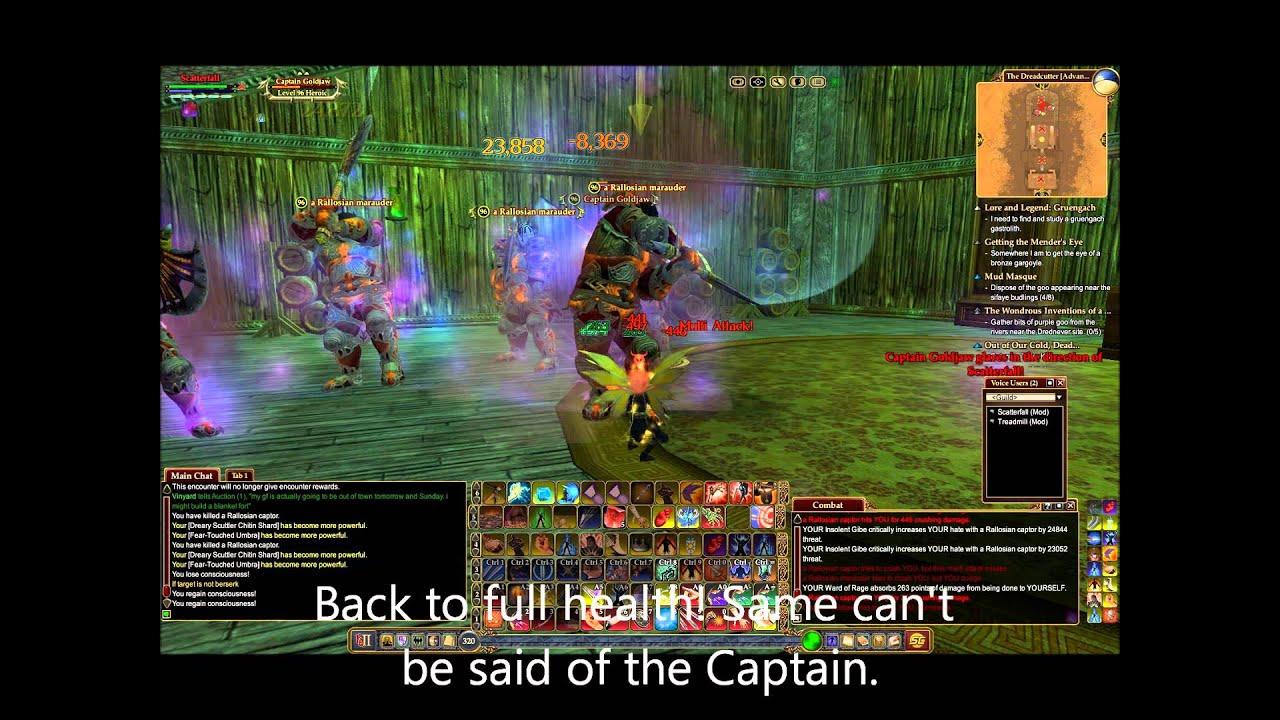No gear, no problem  You're an EQ2 berserker