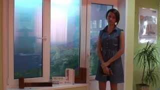 Ламинированные окна - нестандартные цветовые решения