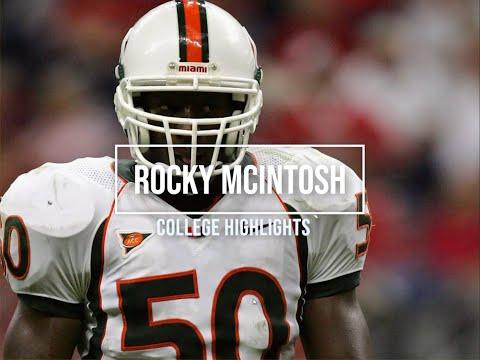 Rocky McIntosh College Highlights - Miami (Fl.)
