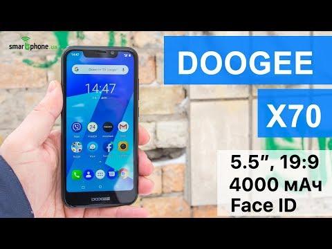 DOOGEE X70 – стильный бюджетник с экраном 19:9 и 4000 мАч