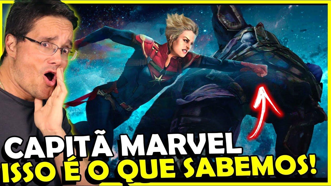 Capitã Marvel, TUDO que a gente SABE sobre o FILME (Até Agora)