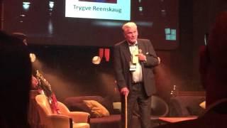 Rosing hederspris til Trygve Reenskaug