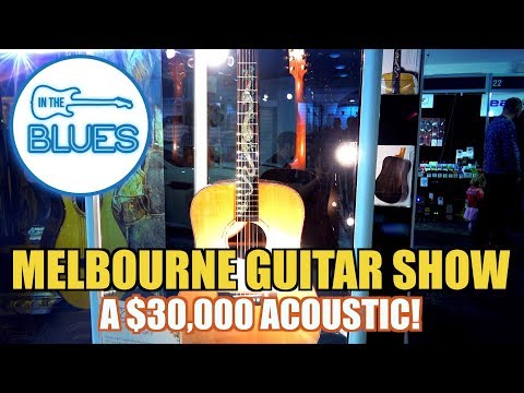 What's A $30,000 Acoustic Guitar Look Like? - Melbourne Guitar Show 2017