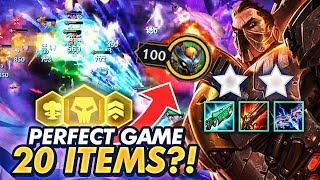 PERFECT 100% GAME WITH 20 ITEMS FROM PIRATES! INSANE GAME! | TFT | Teamfight Tactics