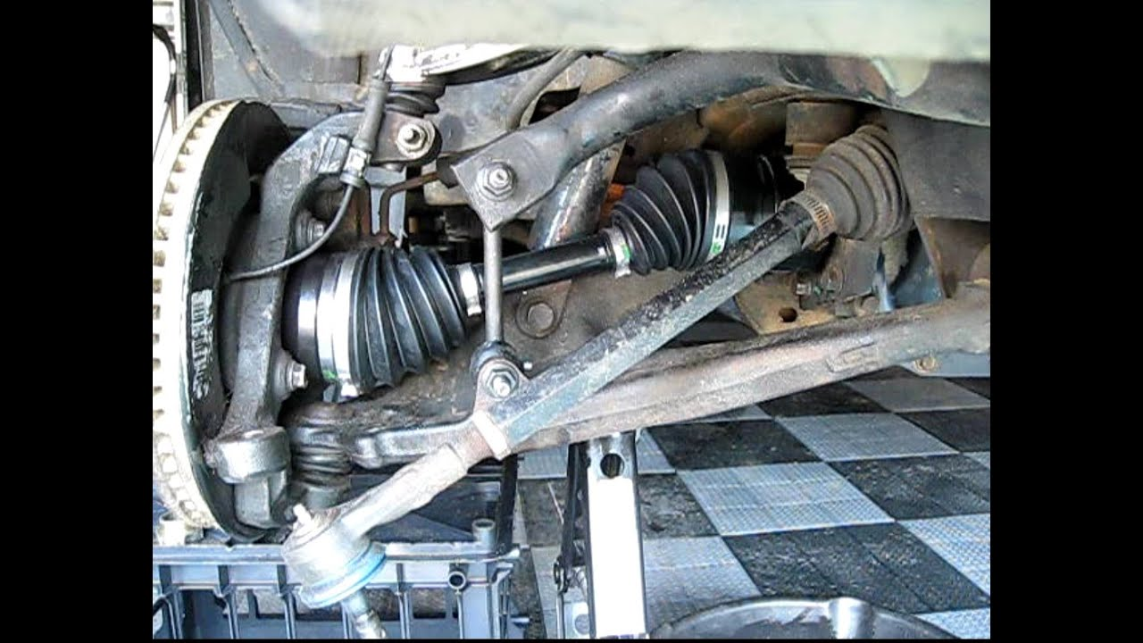 medium resolution of how to replace front wheel drive shaft half shaft cv axle shaft in hummer h3 gmc canyon colorado youtube