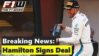 Breaking News: Hamilton Signs Deal