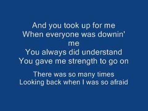 A Song For Mama & Lyrics