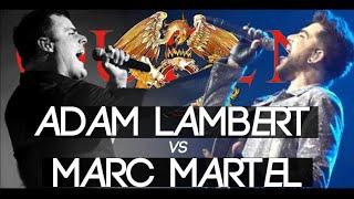 Adam Lambert Vs Marc Martel | Show Must Go On