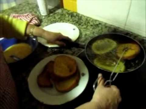"""En Radio Siberia """"Cocinando con...."""" Pepi Mansilla unas torrijas en Siruela"""