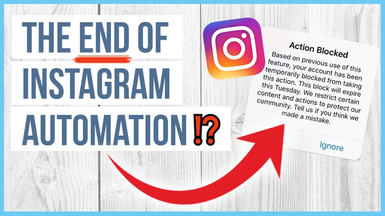 ❌ Is This The END of Instagram Automation? - Instagram Like & Follow Block  (why) ❌