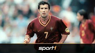 Der meistgehasste Mann Barcelonas: Wie gut war eigentlich Luis Figo? | SPORT1