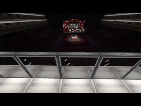 Minecraft: Wwe Raw Arena