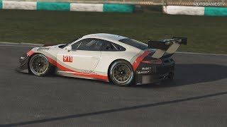 rFactor 2 - Porsche 911 GT3 R Gameplay [4K 60FPS]