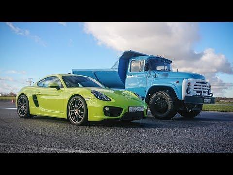 ZIL 600HP versus Porsche.