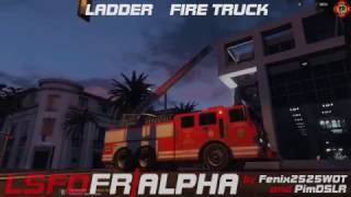GTA 5 - LSFD First Response Vehicle Pack Final Demo